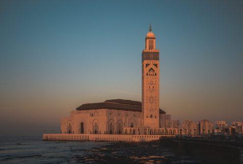 Maroc casablanca hassanII